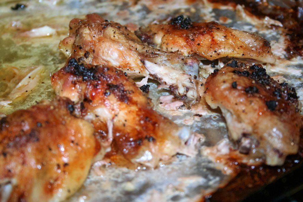 Garlic Parmesan Wings ~ Lifeofjoy.me