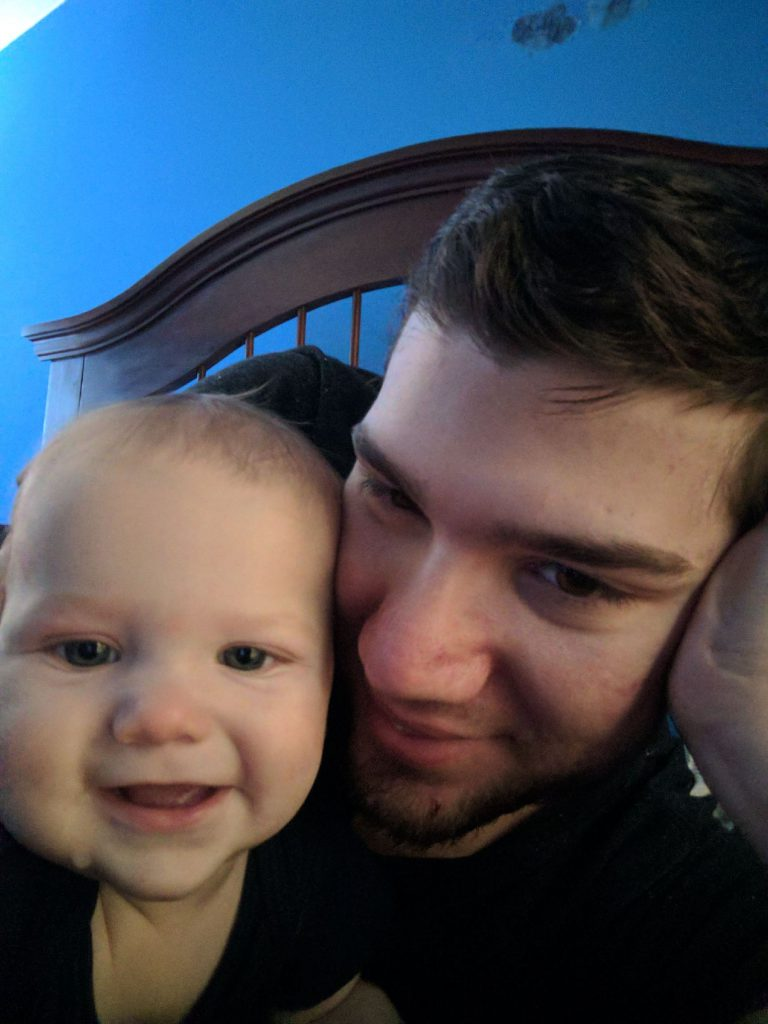 My son with his son ~ Lifeofjoy.me