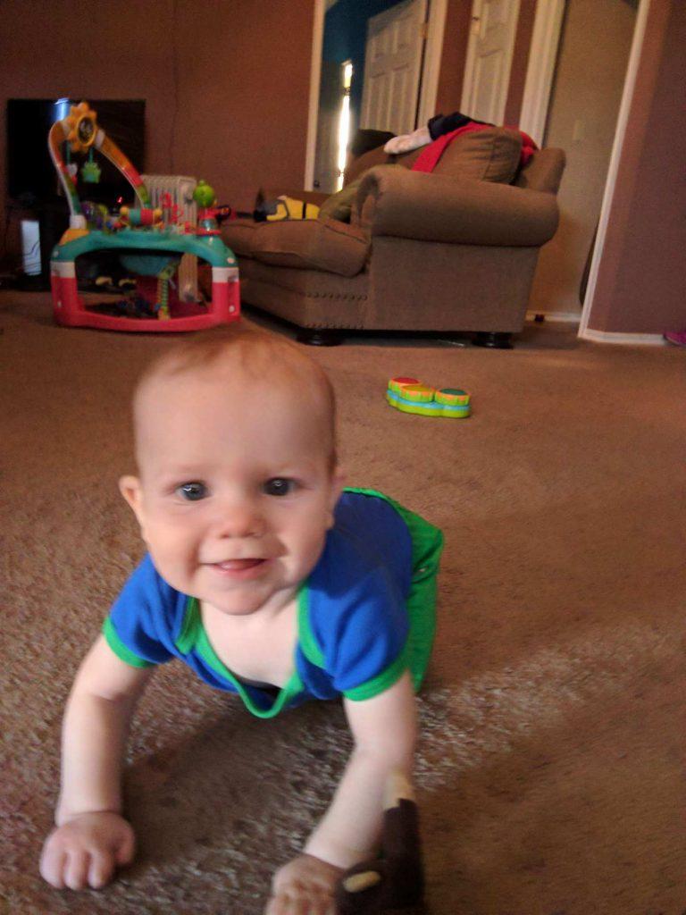 Liam Crawls a Little ~ Lifeofjoy.me