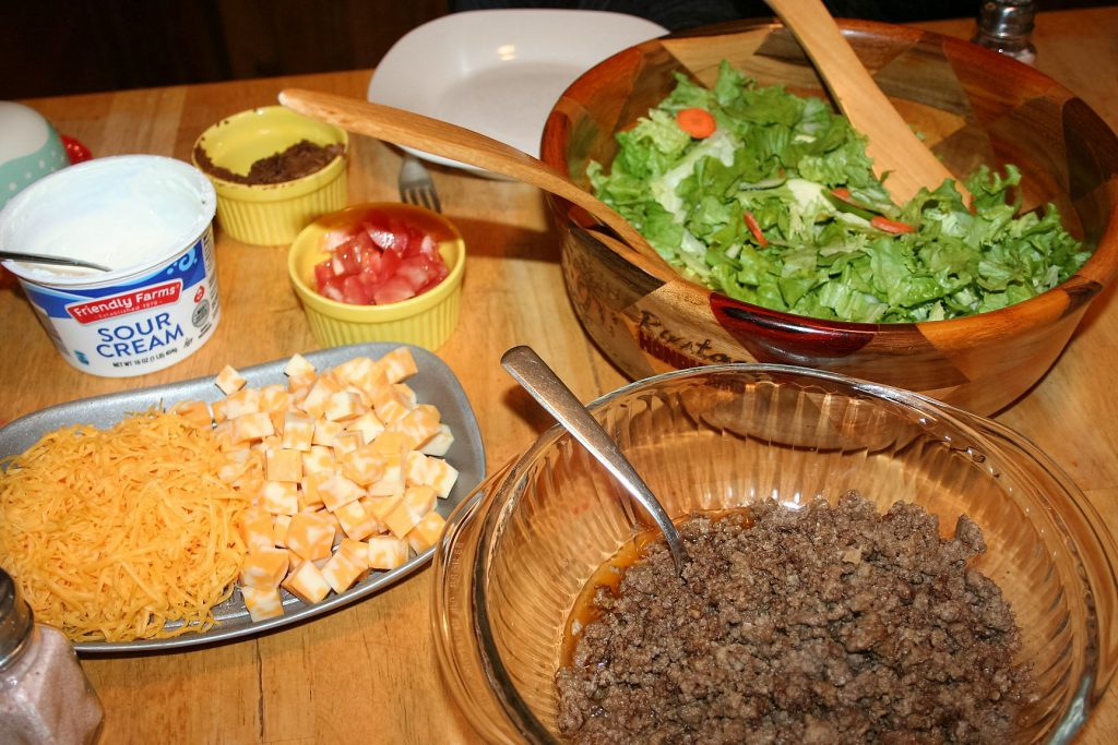 Taco Salad ~ Lifeofjoy.me