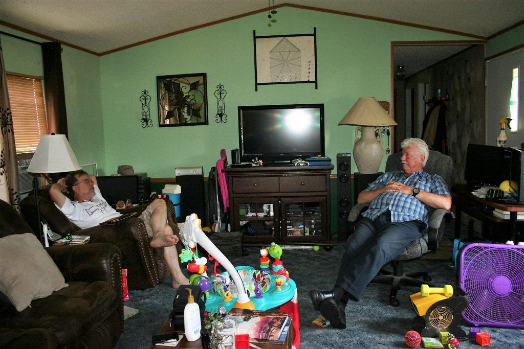 Dad and Michael ~ Lifeofjoy.me