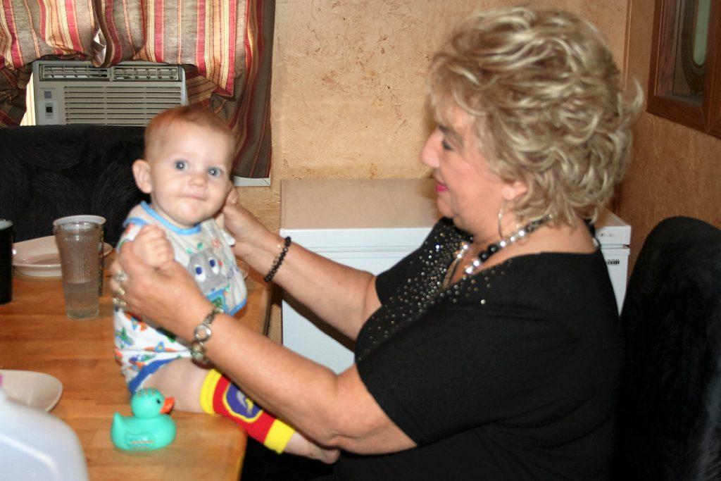 Mom and Liam ~ Lifeofjoy.me