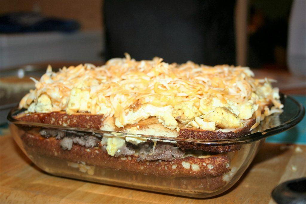 Breakfast Lasagna ~ Lifeofjoy.me