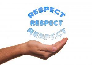 It's About Respect ~ Lifeofjoy.me