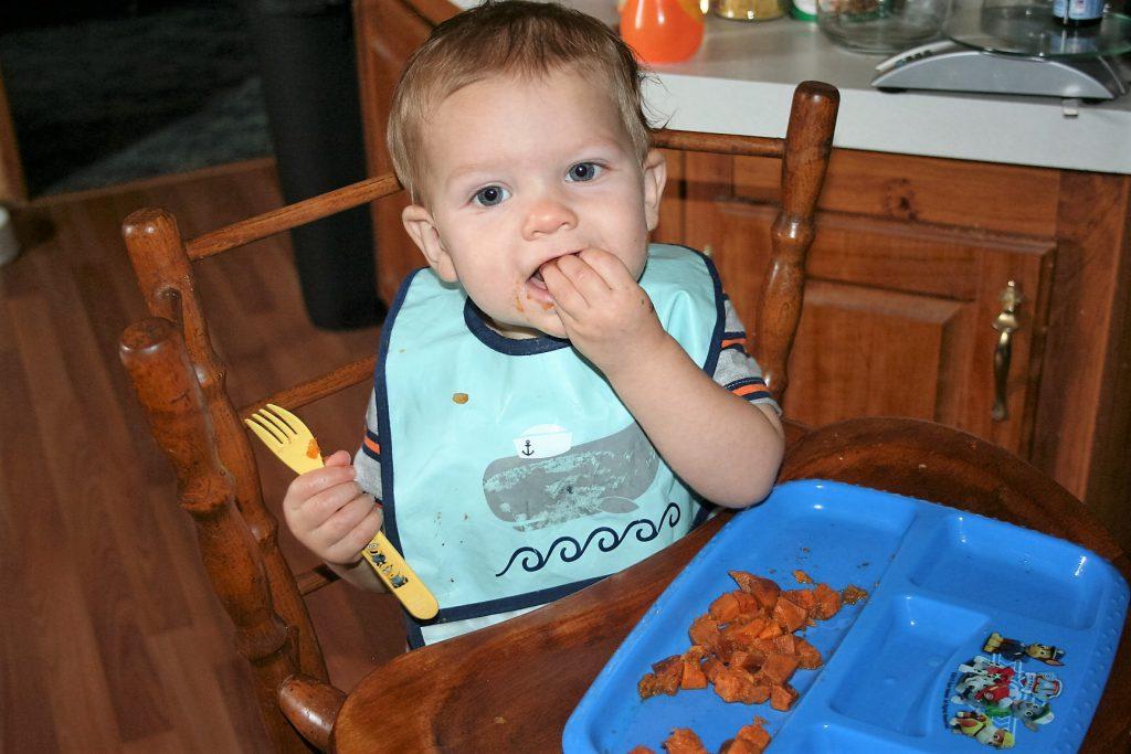 Sweet Potatoes for LIttle Ones ~ Lifeofjoy.me
