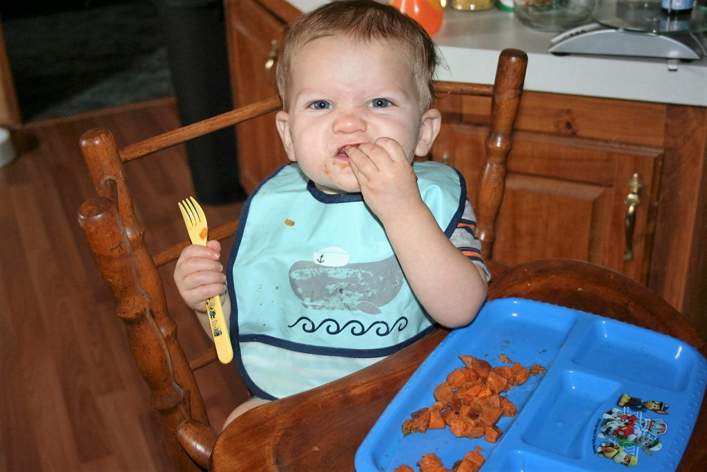 Liam & Sweet Potatoes ~ Lifeofjoy.me
