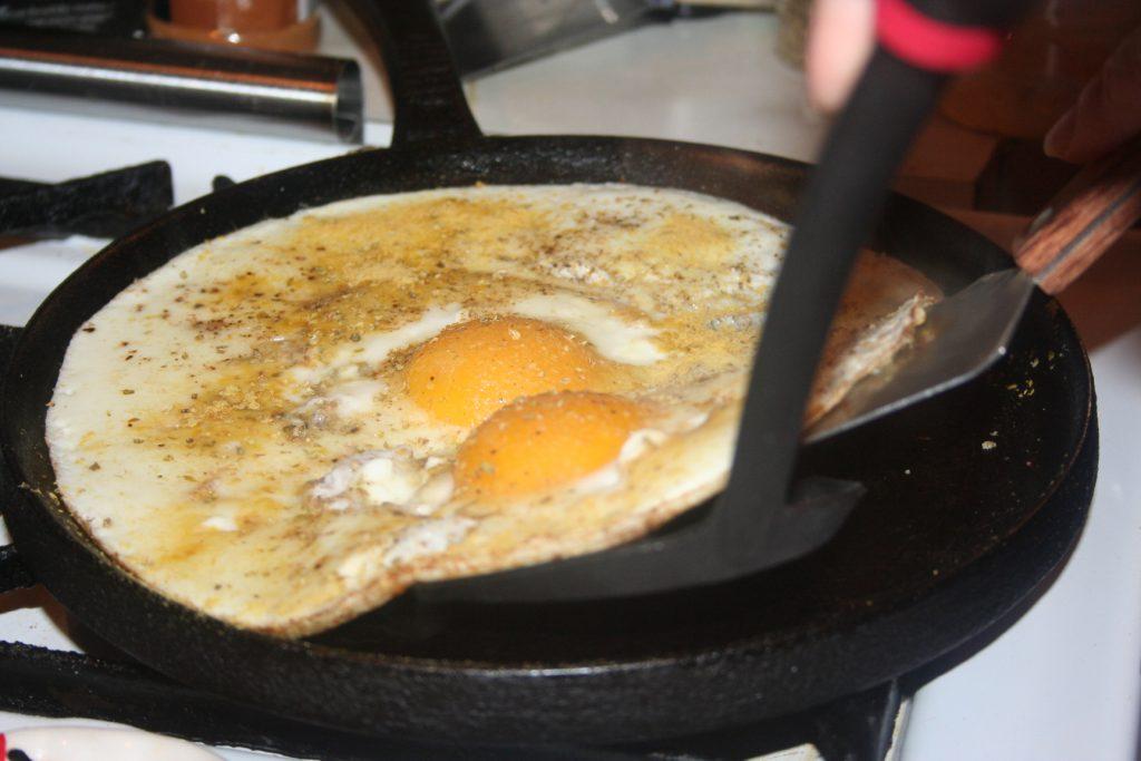 Flipping the Big Egg ~ Lifeofjoy.me