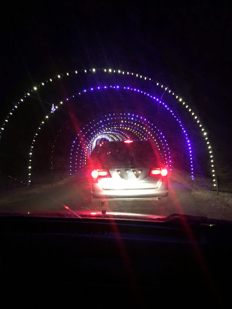 Drive through Lights ~ Lifeofjoy.me