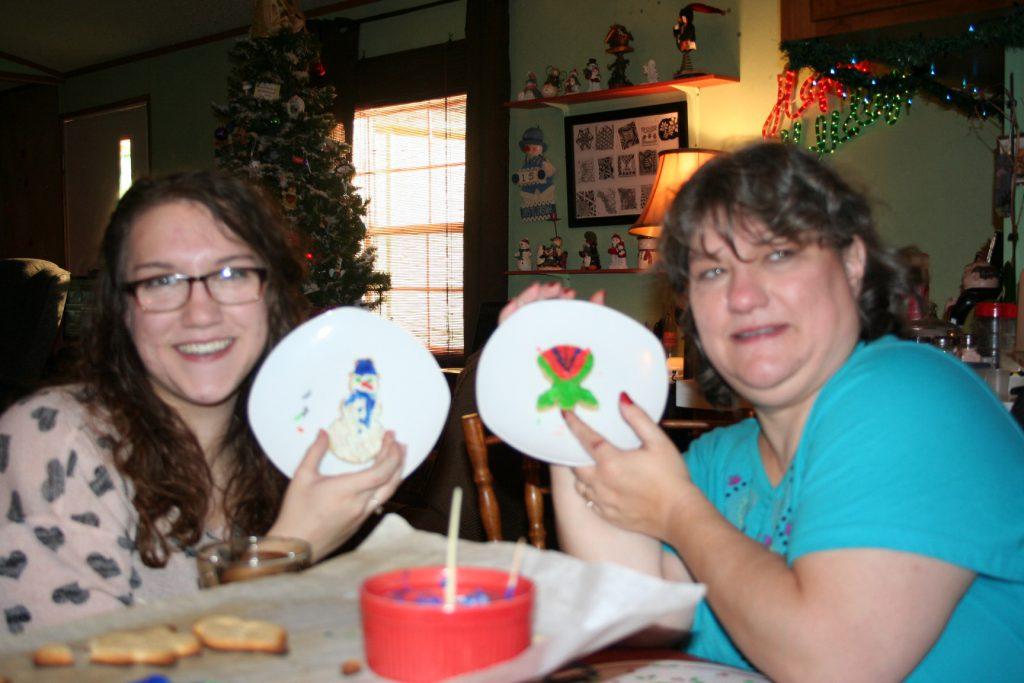 Tiff & I painted cookies ~ Lifeofjoy.me