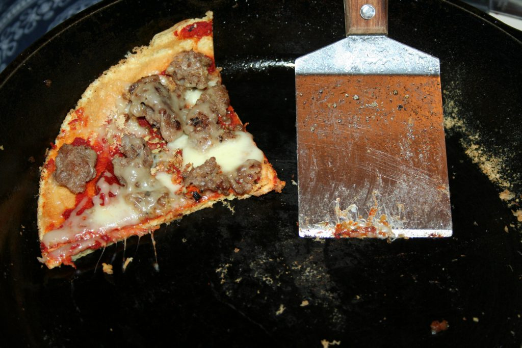 Breakfast Sausage Pizza ~ Lifeofjoy.me