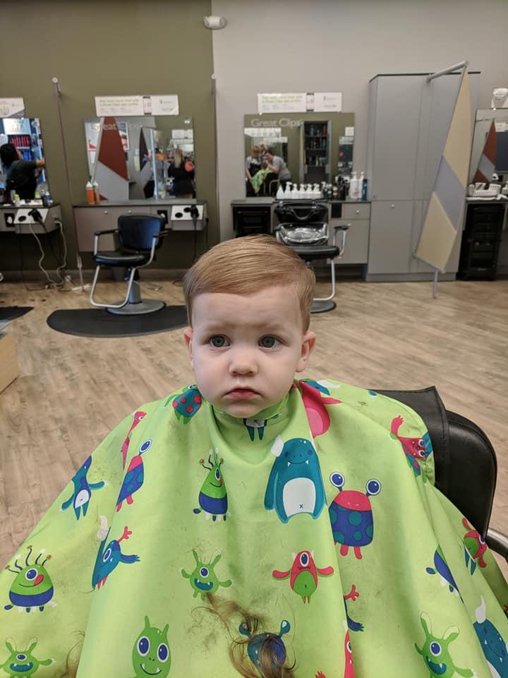 First haircut ~ Lifeofjoy.me