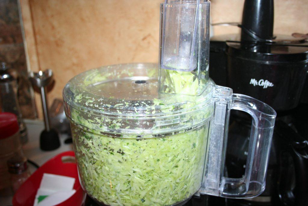 grated broccoli stems ~ Lifeofjoy.me
