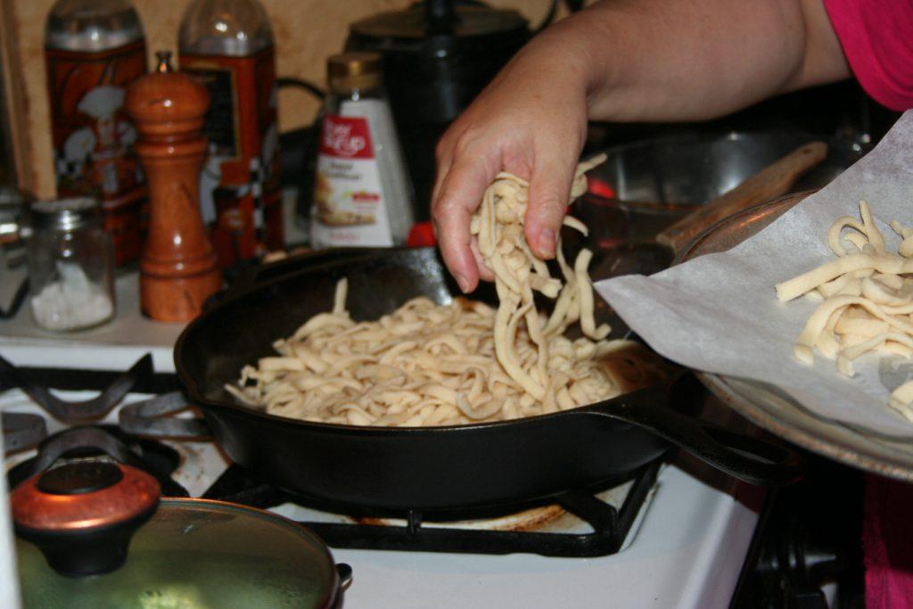 cooking noodles ~ Lifeofjoy.me