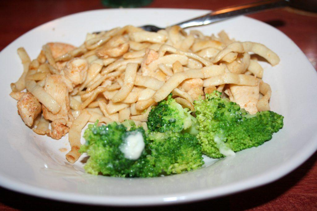 Low carb Noodle dinner ~ Lifeofjoy.me