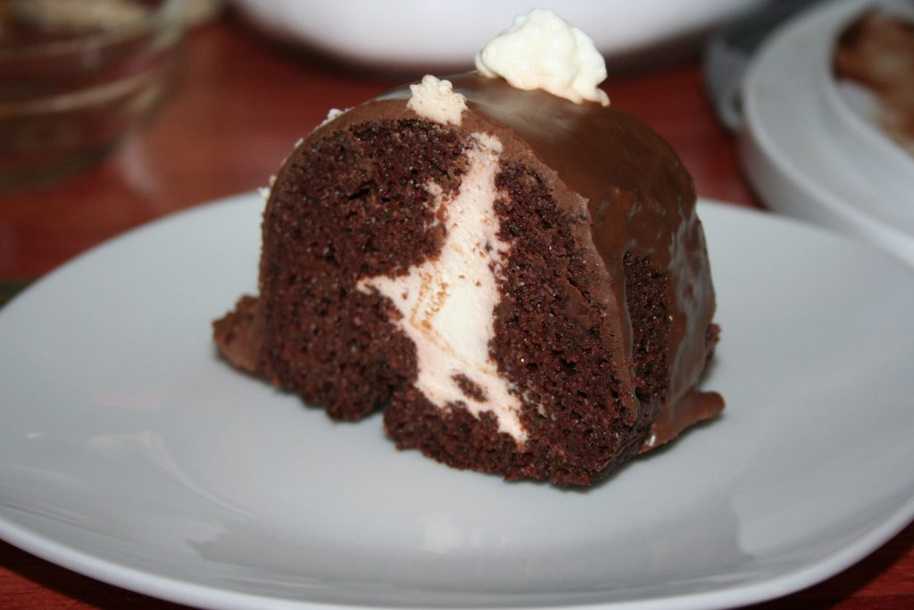 Slice Zucchini Chocolate Cake ~ lifeofjoy.me