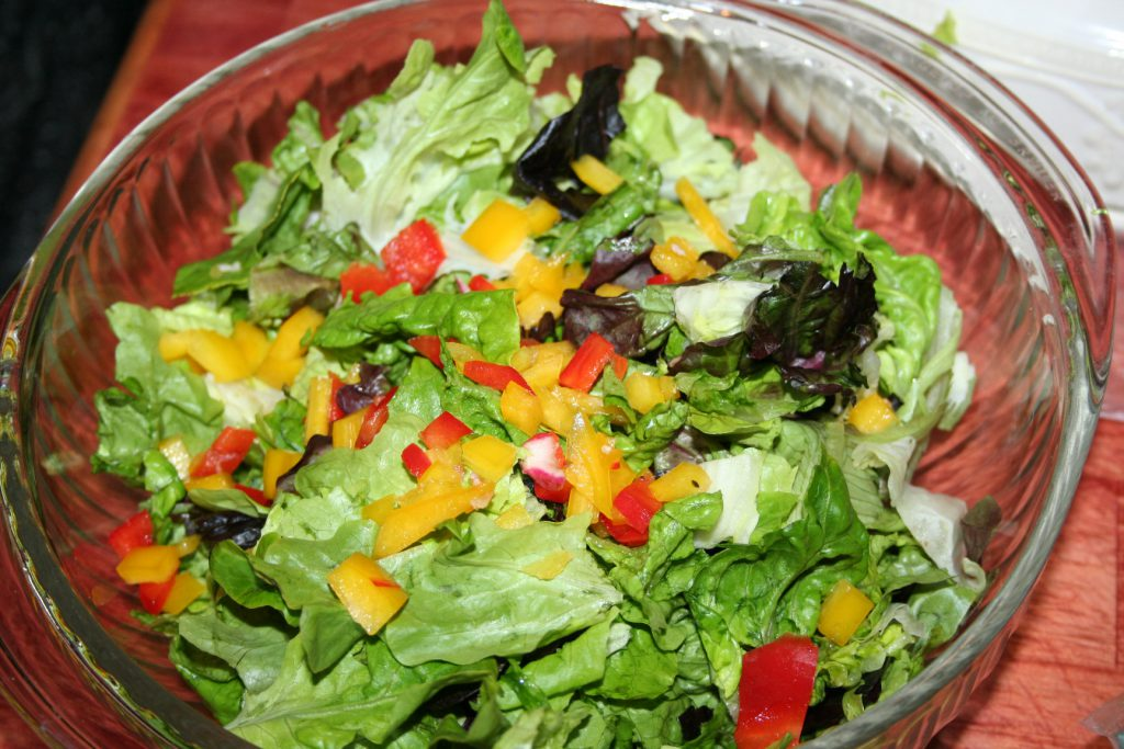Lettuce and Peppers ~ Lifeofjoy.me