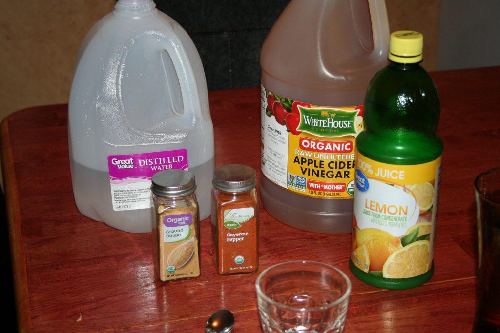 Health Shot Ingredients ~ Lifeofjoy.me