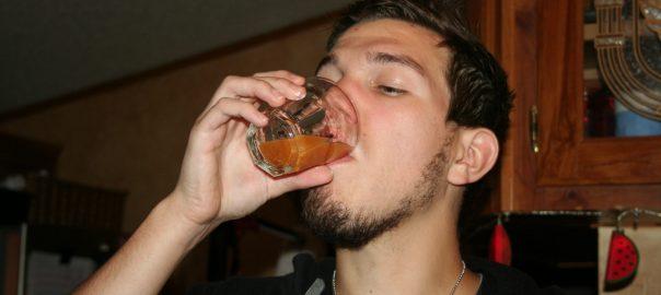 drinking health shot ~ Lifeofjoy.me