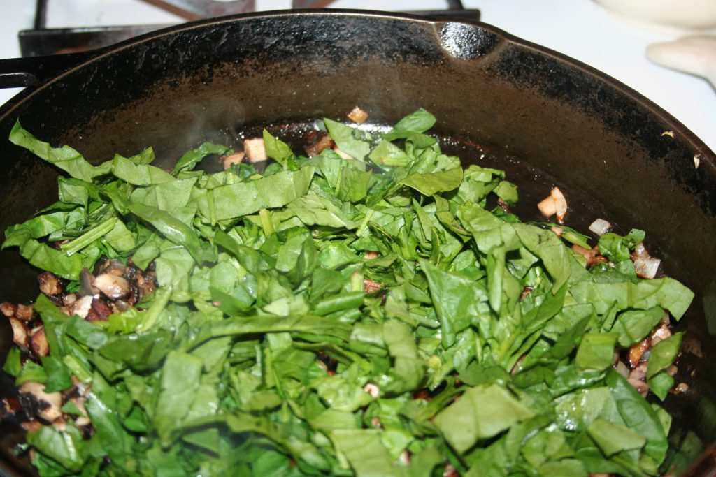 Added spinach ~ Lifeofjoy.me