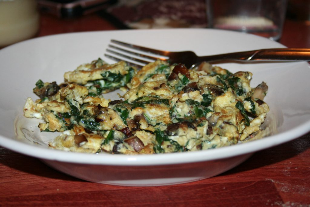 Scrambled Eggs and Veggies ~ Lifeofjoy.me