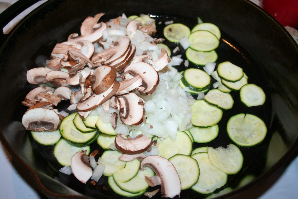 Cook veggies ~ Lifeofjoy.me