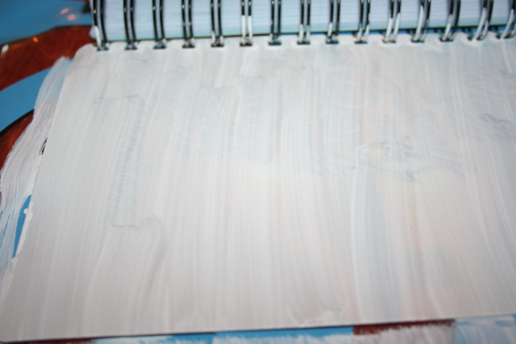 painting journal cover straight lines ~ lifeofjoy.me