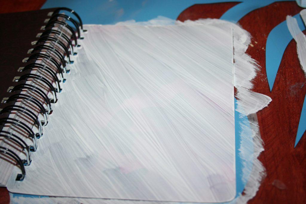 diagonally painted journal ~ Lifeofjoy.me