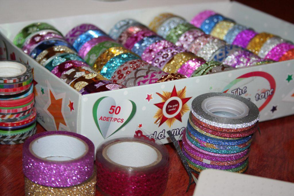 Glitter Washi tape ~ lifeofjoy.me