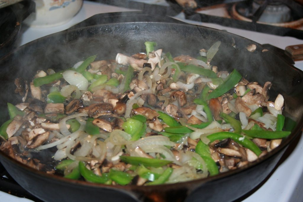 Sauté onions peppers mushrooms ~ Lifeofjoy.me