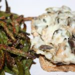 Open-face Philly Cheese Chicken ~ Lifeofjoy.me