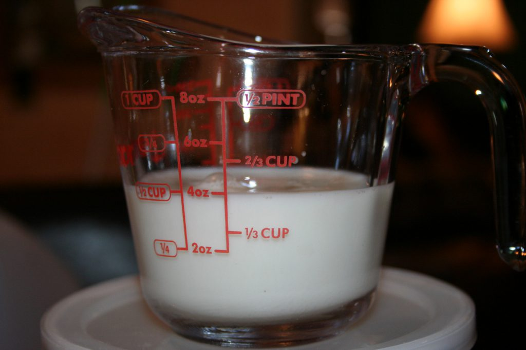 Add almond milk ~ Lifeofjoy.me