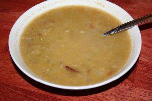 split pea soup ~ Lifeofjoy.me