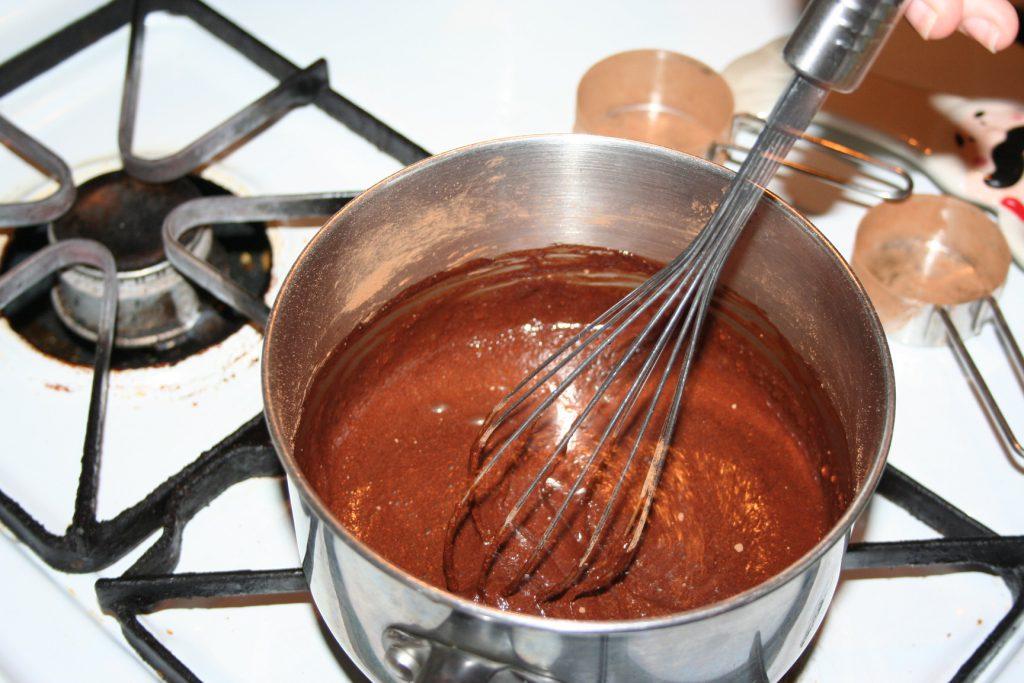 Boiling cocoa base ~ Lifeofjoy.me