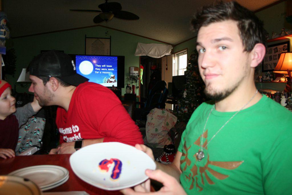 Sean and cookie ~ Lifeofjoy.me