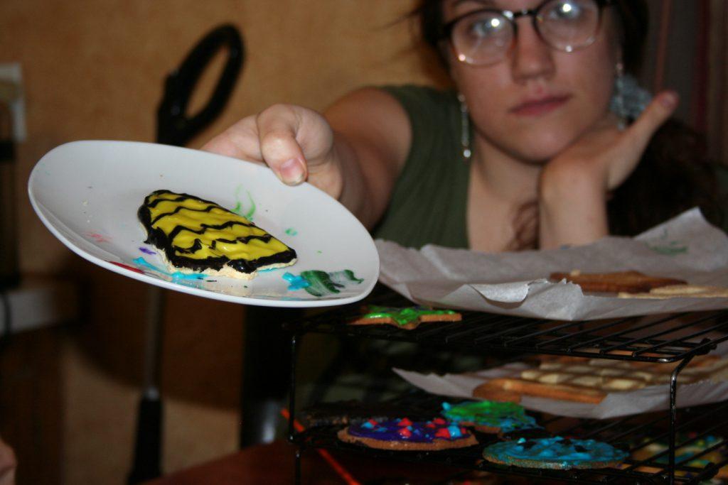 bumble bee cookie ~ Lifeofjoy.me