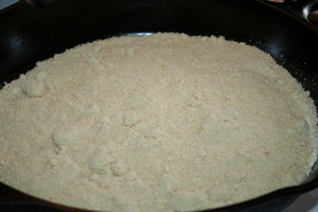 ready to toast almond flour ~ Lifeofjoy.me