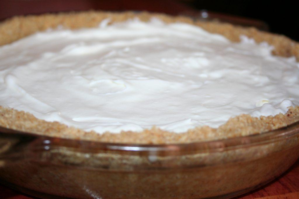 Almond flour crusted no-bake cheesecake ~ Lifeofjoy.me