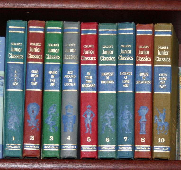 Collier's Junior Classics ~ Lifeofjoy.me