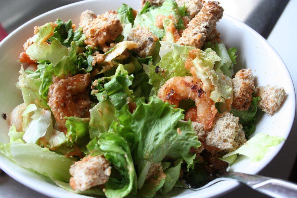 Shrimp in Salad ~ Lifeofjoy.me