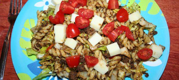 Low Carb Taco Mac Salad ~ Lifeofjoy.me